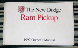 1997 Dodge Ram Pickup Owner's Manual Factory OEM Used  - $10.99