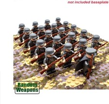 21PCs/set WW2 Army Military German Building Blocks Small Soldier Officer... - $24.99