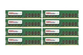 MemoryMasters 64GB (8x8GB) DDR4-2133MHz PC4-17000 ECC UDIMM 1Rx8 1.2V Unbuffered - $871.05