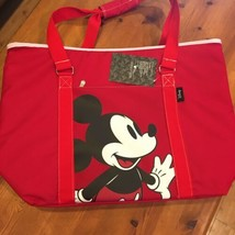 Disney Mickey Mouse XL Cooler Tote. Insulated 48 Can Capacity. Brand New... - $38.22