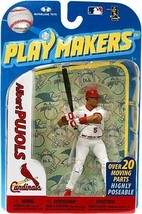 Albert Pujols St Louis Cardinals Playmakers Figure NIB MLB Cards 2010 Mc... - $25.98