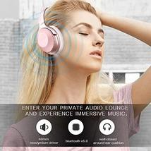 Sumvov Wireless Headphones Over Ear, Bluetooth Headphones 5.0 with Mic, Quick Ch image 2