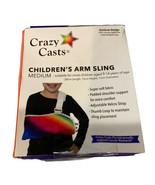 Crazy Casts Rainbow Design Children's Arm Sling Size Medium-Age 9-14 years - $12.16
