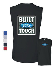 Built Tough Muscle Shirt Licensed Ford Truck 4x4 F150 Mustang - $11.56+