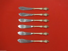 """Lasting Grace by Lunt Sterling Silver Trout Knife Set 6pc. HHWS  Custom 7 1/2"""" - $429.00"""