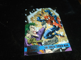 1995 DC Versus Marvel Fleer SkyBox Card #78 The Joker Vs. Spiderman - $1.49
