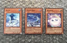 Lot of Three (3) Konami Yu-Gi-Oh! TCG CCG 1st, Limited & Unlimited Effect Cards - $4.27