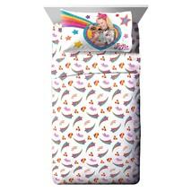 Nickelodeon Jojo Siwa Rainbow Sparkle 3 Piece Twin Sheet Set - $54.99