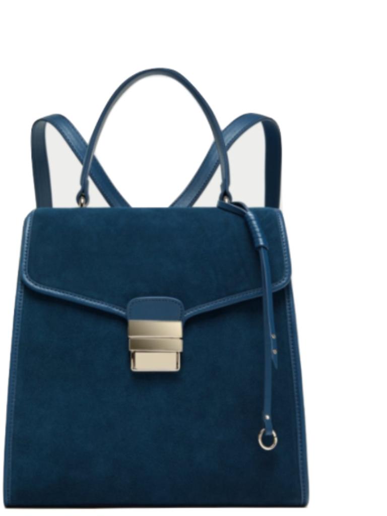 755f1cf6 Zara Rare Split Suede Convertible Backpack and 50 similar items