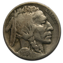 1918D Buffalo Nickel 5¢ Coin Lot # MZ 3560