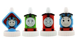 good2grow spill-proof bottle toppers 4-pack, Thomas the Train - Thomas, Percy, J
