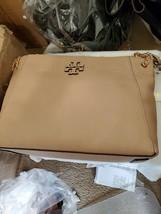 Tory Burch McGraw Chain-Shoulder Slouchy Tote Devon Sand - $361.35