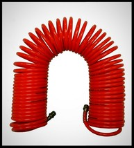 SPEEDWAY Red Polyurethane Recoil Hose 200 psi Air Compressor Part 1/4 in... - $16.78