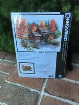 "2007 DIMENSIONS COUNTED CROSS STITCH GLORY OF AUTUMN  35199 14"" X 11"" - $25.75"