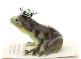 Hagen-Renaker Miniature Frog Prince Kissing Birthstone 07 August Peridot image 4