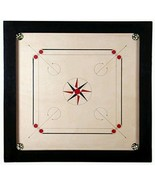 """Best 27.5"""" Large carromboard Wooden Carrom Board Game + acrylic Coins + ... - $148.50"""