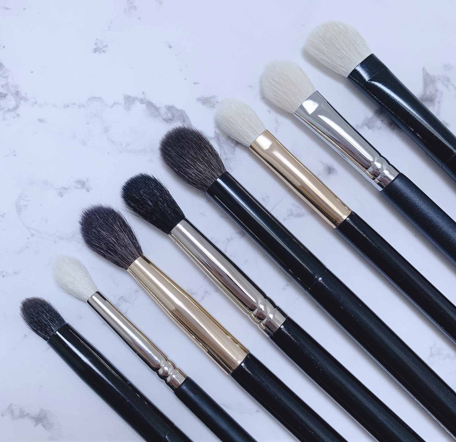 Primary image for R&M 8pc EYE MAKEUP BRUSHES SET