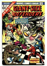Giant-Size Defenders #3 comic book First KORVAK. Hulk Daredevil Dr. Strange. - $65.57