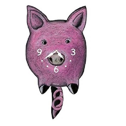 Primary image for Pig Pendulum Wall Clock