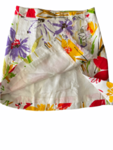 Dolce & Gabbana Charcoal Women Skirt Made in Italy White Red Yellow Orange Small image 4