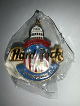 Hard Rock Cafe 2001 Washington DC Inauguration Capitol Logo Pin Collectible HRC - $14.89