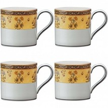 Wedgwood India Coffee Mug Set of 4 Four New with Tag - $168.30