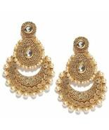 PANASH Gold-Plated Beaded Dangle & Drop Earrings For Women - $16.31