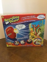 Spin Master Storytime Theater Projector With Winnie The Pooh Story Narrates New - $100.00