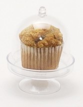 "12 Clear Plastic Acrylic Mini Cupcake Holder with Dome 2.75"" x 3.75 party favors - $10.84"