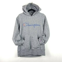 Vintage Champion Reverse Weave Spell Out Hoodie USA Made Script Sweatshi... - $41.90