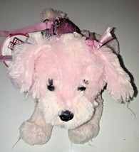 Poochie and Company Pink Maltese Mindy Shoulder Bag Flip Sequins - $15.00