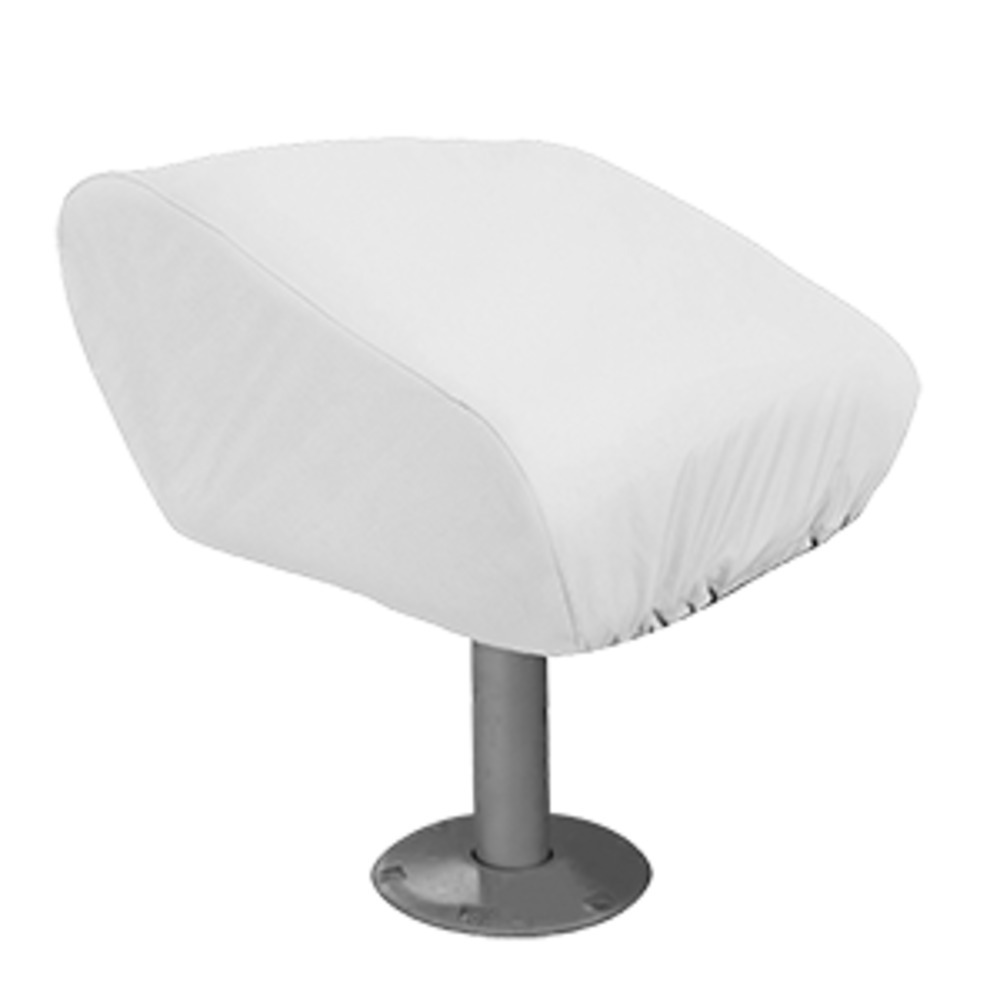 Primary image for Taylor Made Folding Pedestal Boat Seat Cover - Vinyl White
