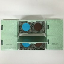 2 Mally Evercolor Modern Matte Eyeshadow Duo EARTH Brown  Sky Blue + BRUSH Boxed - $11.87