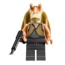 1 Pcs Star Wars Military Figure Jar Jar Binks Fit Lego Block Minifigures... - $6.99