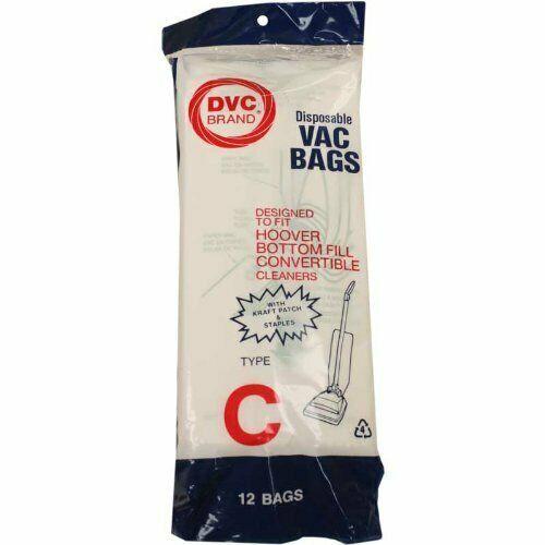 Paper Bag, Hoover Type C Bottom Fill 12pk - $8.54