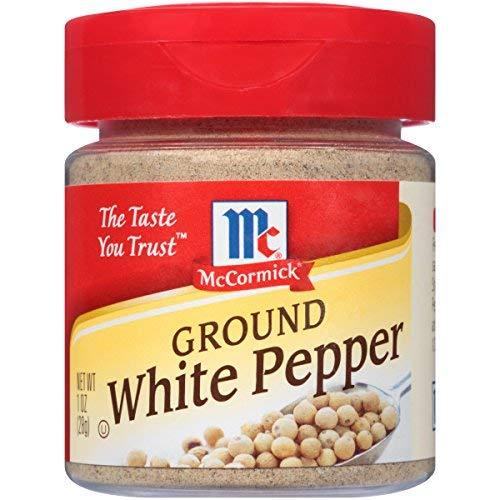 Primary image for McCormick Ground White Pepper, 1 oz
