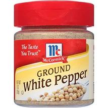 McCormick Ground White Pepper, 1 oz - $3.91