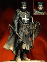 90mm Knight Hospitaller, XIII century 90mm figure Historical WWII Resin  - $53.10
