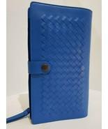 100% Authentic BRAND NEW Bottega Veneta Men Royal Blue Multi-functional case . - $478.92