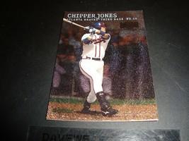Chipper Jones 2000 Fleer Skybox Metal #24 Mint Baseball Card Atlanta Braves - $0.99