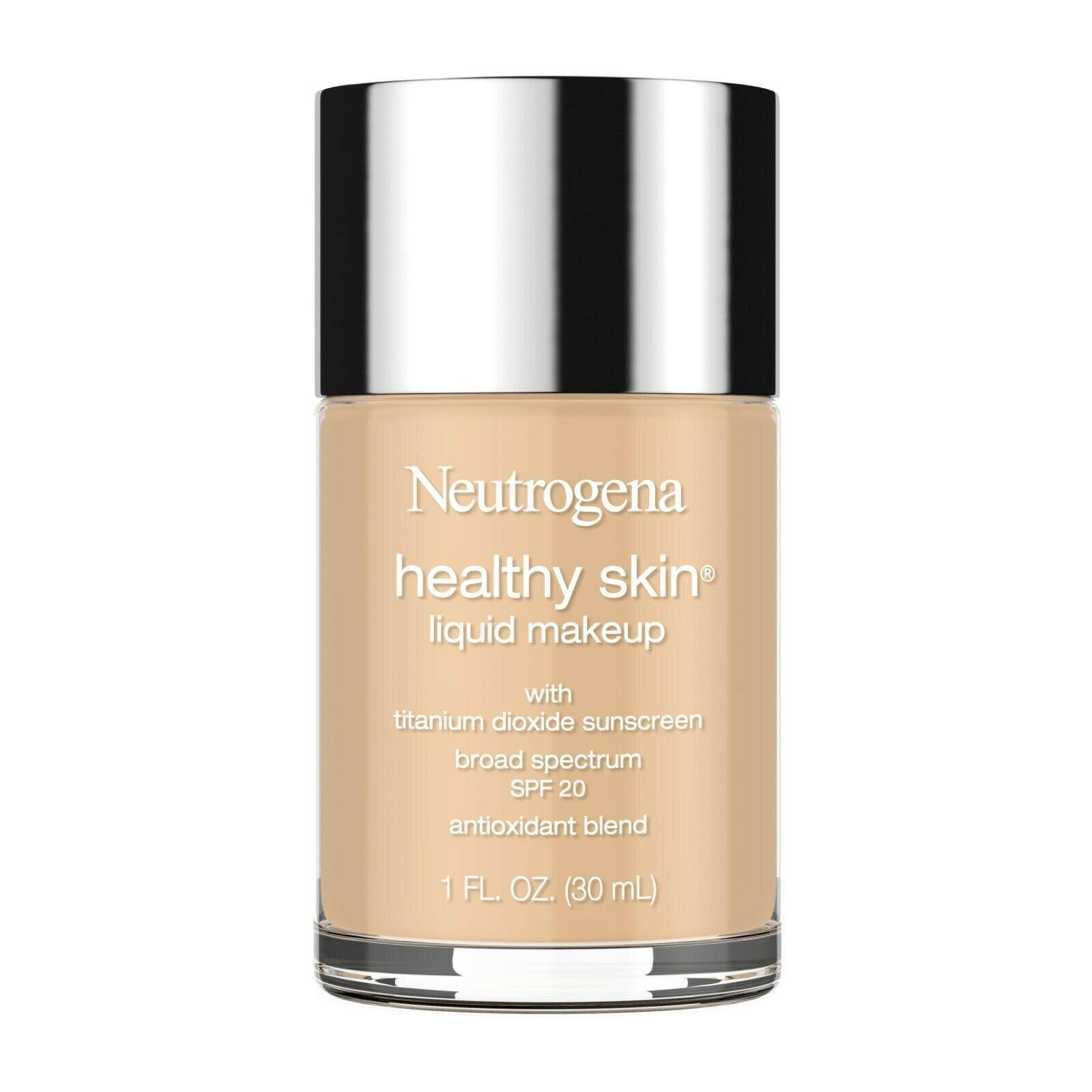 Neutrogena Healthy Skin Liquid Foundation, 85 Honey, 1 fl. oz... - $25.73