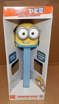 Giant PEZ Despicable Me Candy Roll Dispenser Minion Made Talks Says Banana 156B - $18.49