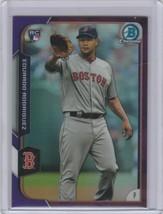 2015 Bowman Chrome Purple Refractors Baseball Card #196 Eduardo Rodrigue... - $2.20