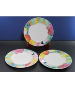 "Mikasa Maxima Super Strong China Exotic Garden Bread Plates 6.5"" X 3 - $19.39"
