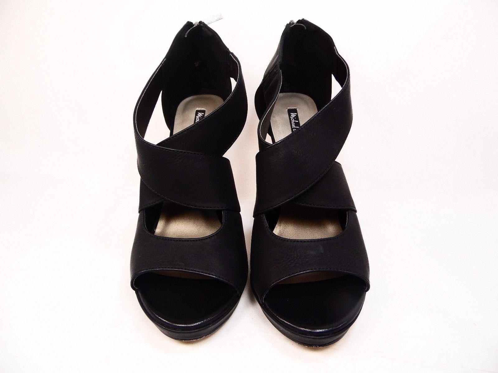 Michael Antonio Tovey Womens Sandal Black Size 9 M