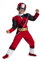 Power Rangers Ninja Steel Toddler  Costume, Red, Small (2T) - $12.86