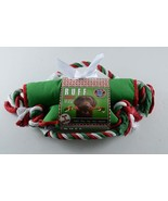 Ruff Holiday chew Resistant Dog Toy Christmas gift Tug Toss Squeak Play ... - $14.84
