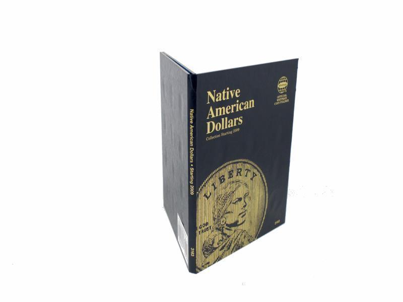 Whitman Coin Folder/Album, Native American Dollar, Starting 2009, P and D  image 2