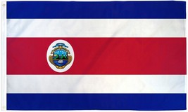 "COSTA RICA 3X5' FLAG NEW 3'X5' 3 X 5 FEET 36X60"" BIG - $9.85"