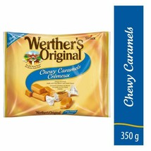 3 Werther's Original Chewy Caramels Candy 350g/13oz Each Canada FRESH DELICIOUS - $33.91